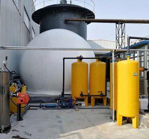 如何清除沼气净化设备中的残渣呢?